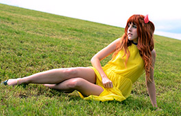 Amarna Miller Public Outdoors Cosplay